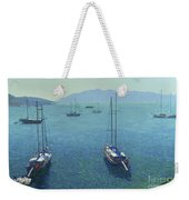 The Yachts Weekender Tote Bag