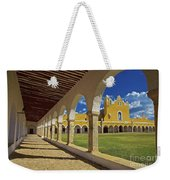 The Yellow City Of Izamal, Mexico Weekender Tote Bag