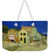 The Yellow House Weekender Tote Bag by Vincent Van Gogh