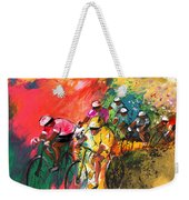 The Yellow River Of The Tour De France Weekender Tote Bag