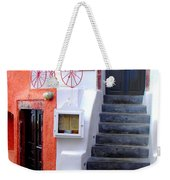 The Yellow Scarf Weekender Tote Bag
