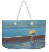 The Yellow Umbrella Weekender Tote Bag
