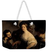 The Young Courtesan Weekender Tote Bag