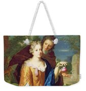 The Young Lovers Weekender Tote Bag