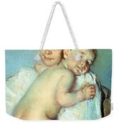 The Young Mother Weekender Tote Bag