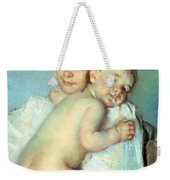 The Young Mother Weekender Tote Bag by Mary Stevenson Cassatt