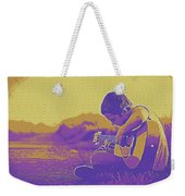 The Young Musician 3 Weekender Tote Bag