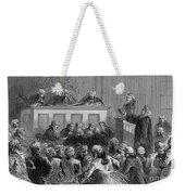 The Zenger Case, 1735 Weekender Tote Bag by Photo Researchers