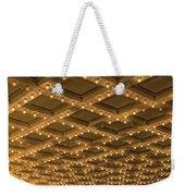Theater Ceiling Marquee Lights Weekender Tote Bag