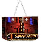 Theater District Close Up Weekender Tote Bag