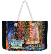 Theater Night Weekender Tote Bag