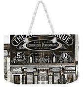 Theatre Comique Weekender Tote Bag