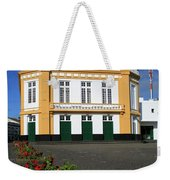 Theatre In Ribeira Grande, Azores Weekender Tote Bag
