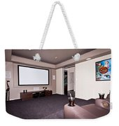Theatre Room Weekender Tote Bag