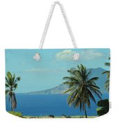 Thecaribbean  Island Of St Eustatius Weekender Tote Bag