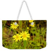 Thee Yellow Smiles  Weekender Tote Bag