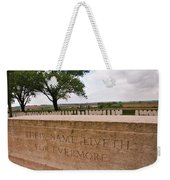 Their Name Liveth For Evermore Weekender Tote Bag