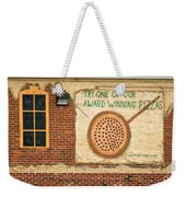 Their Pizza Is A Work Of Art Weekender Tote Bag