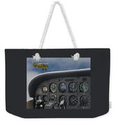 Then And Now Weekender Tote Bag