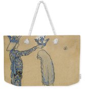 Then Put The Prince A Crown Of Gold On Her Head Weekender Tote Bag