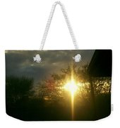 Then There Was Light Weekender Tote Bag