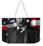 Theodore Roosevelt 26th President Of The United States Weekender Tote Bag