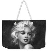 Theo's Marilyn Ww Bw Weekender Tote Bag