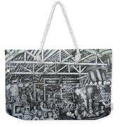 Theos Weekender Tote Bag