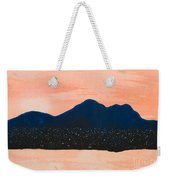 There Are No Mountains In Michigan Weekender Tote Bag