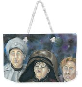 There Goes The Planet Weekender Tote Bag