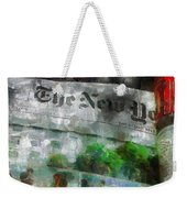 There Is No News Fit To Print Weekender Tote Bag
