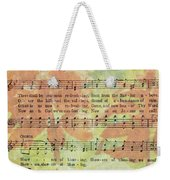 There Shall Be Showers Of Blessing Weekender Tote Bag