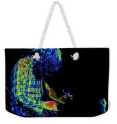 There's A Cosmic Light Weekender Tote Bag