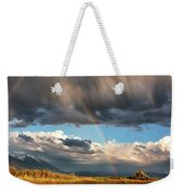Theres A Rainbow In Every Storm Weekender Tote Bag