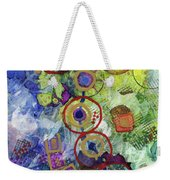 There's Always A Blue Thread Through It Weekender Tote Bag