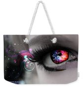 There's Magick In The Eyes Weekender Tote Bag