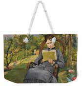Therese Reading In The Park Of Meric Weekender Tote Bag