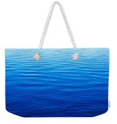These Are Water Reflections In Lake Weekender Tote Bag