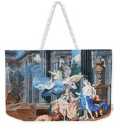 Theseus Crowned With A Laurel Wreath After Slaying The Centaur Bianor Weekender Tote Bag