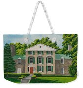 Theta Chi Weekender Tote Bag by Charlotte Blanchard