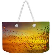 They Call Me Fall Weekender Tote Bag by Mary Hood