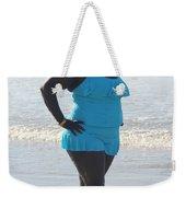 Thick Beach 14 Weekender Tote Bag