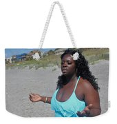 Thick Beach 16 Weekender Tote Bag