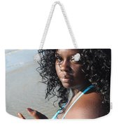 Thick Beach 17 Weekender Tote Bag