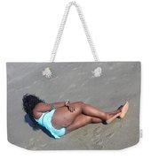 Thick Beach 3 Weekender Tote Bag