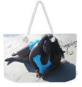 Thick Beach 4 Weekender Tote Bag