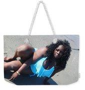 Thick Beach 5 Weekender Tote Bag