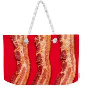 Thick Cut Bacon Served Up Weekender Tote Bag
