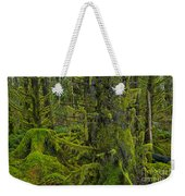 Thick Rainforest Weekender Tote Bag