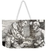 Thigh Cauterization, 16th Century Weekender Tote Bag